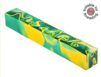 Kirinite Green Bay pen blank